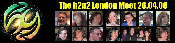 h2g2 London Meet banner