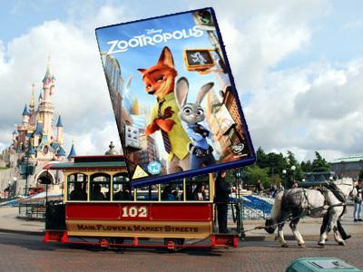 Zootropolis DVD at DisneyWorld