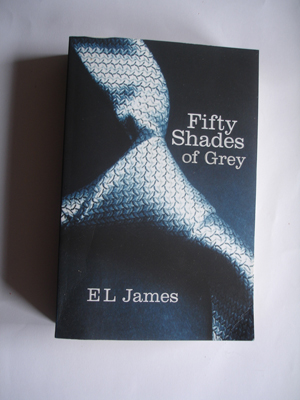 Book cover of 50 Shades of Grey