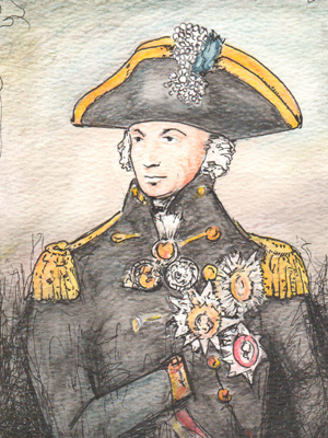 Lord Nelson by Rosie