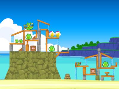 Screenshot of Angry Birds by Rovio