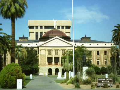 The Capitol Building, Phoenix, Arizona, USA
