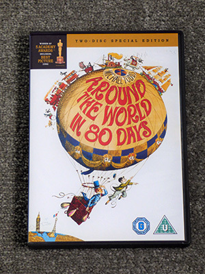 New in the Edited Guide: 'Around the World in Eighty Days' - a Novel by Jules Verne