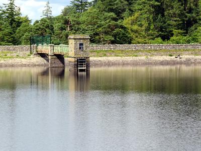 The Bohernabreena Reservoirs, County Dublin, Ireland