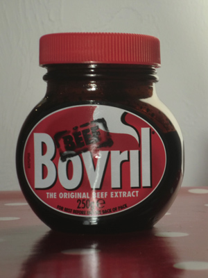 A jar of Bovril
