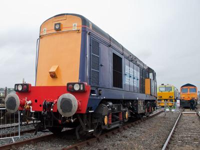 A Type 1 Diesel Locomotive