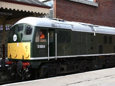 A Type 2 Diesel Locomotive