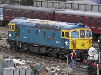 A Type 3 Diesel Locomotive