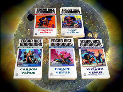 New in the Edited Guide: The Venus Novels by Edgar Rice Burroughs