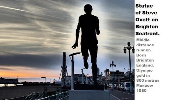 Statue of Steve Ovett by Cactuscafe.