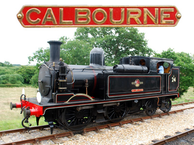 'Calbourne' – the Isle of Wight Steam Railway's Flagship Tank Engine