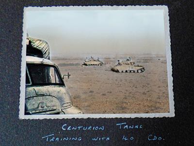 Centurion Tanks in Libya
