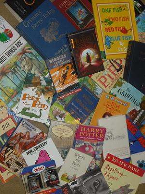 A selection of Children's books.