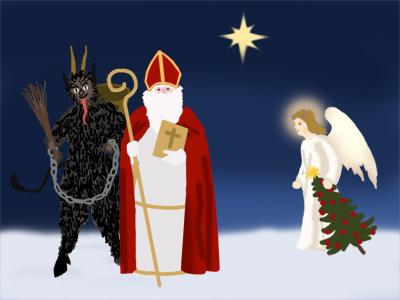 Christmas sin Austria.
