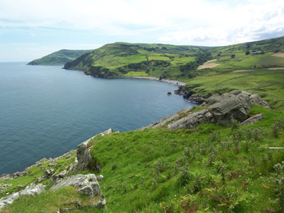 The coast at Torr Head, Antrim, Northern Ireland.