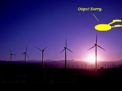 A possible explanation of the Conisholme wind farm damage.