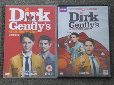 DVDs of Dirk Gently's Holistic Detective Agency