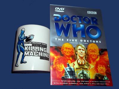 Doctor Who Enemies: Raston Warrior Robot