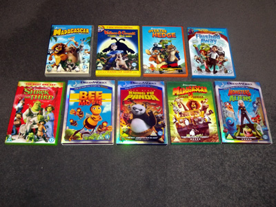 DreamWorks DVDs