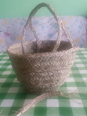 An Esparto Grass basket