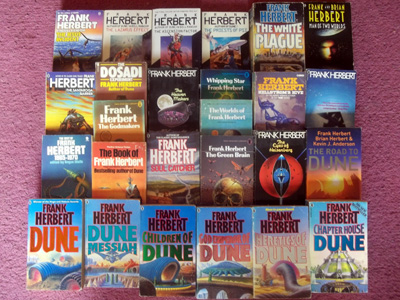 A selection of the works of Frank Herbert