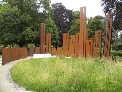 The Gheluvelt Memorial.