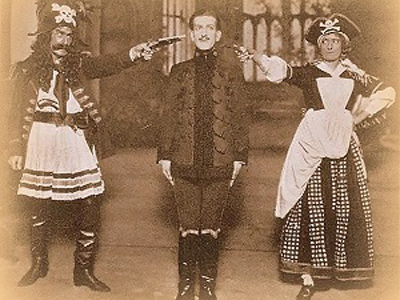 A photograph of Pirates of Penzance. Image in the Public Domain