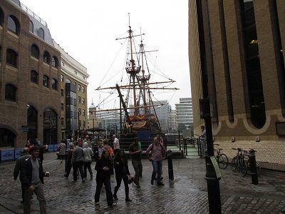 The Golden Hind, photographed by Florida Sailor.