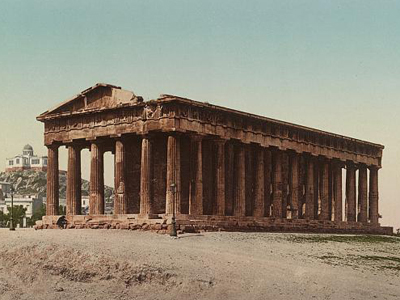 Temple of Theseus in Athens