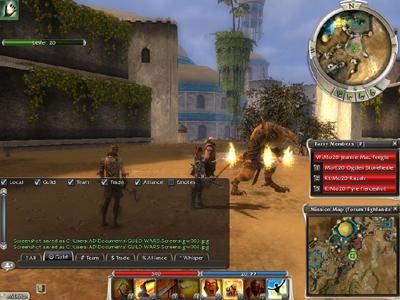 Guild Wars Nightfall: Screenshot