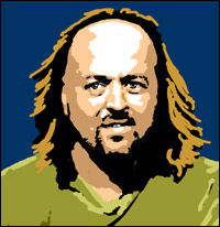 Bill Bailey looking amused.