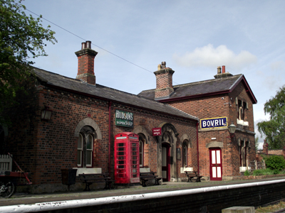 Hadlow Road Railway Station, Wirral, UK