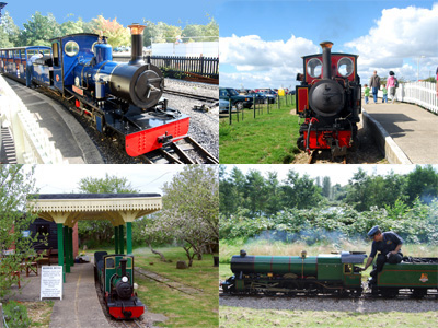Miniature and Narrow Gauge Railways in Hampshire
