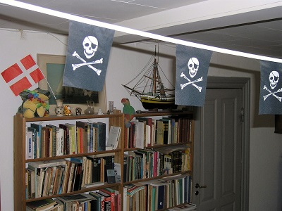 An ideal pirate den.