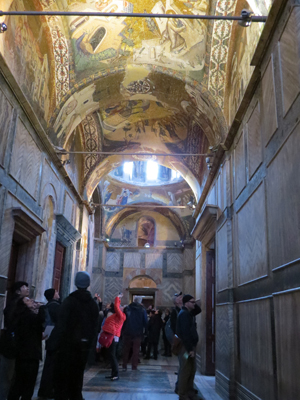 The Inner Narthex of the Chora Church