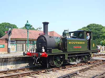 W8 Freshwater on the Isle of Wight Steam Railway