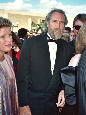 Jim Henson at the 1989 Emmy Awards, photo by Alan Light.