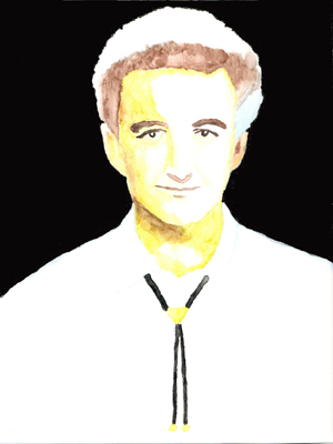 A picture of John Deacon.