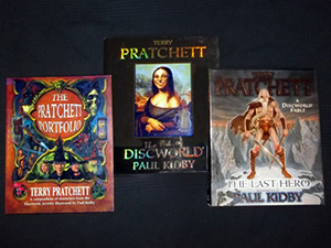 Other Discworld covers illustrated by Paul Kidby