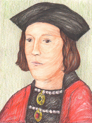 A portrait of King Edward IV by Artist Rosie.