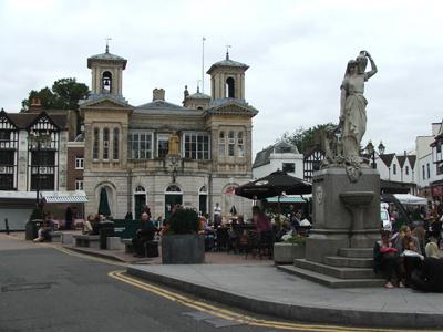 Kingston upon Thames.