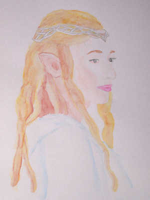 Galadriel, the Elf-Lady of Lorien