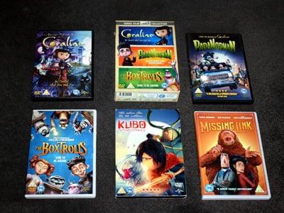 Laika DVDs