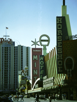 Las Vegas, Nevada in 1981