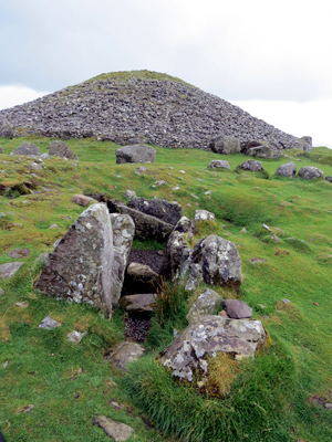 Loughcrew: the hilltop at Carnbane East