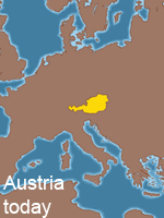 Map of Austria today