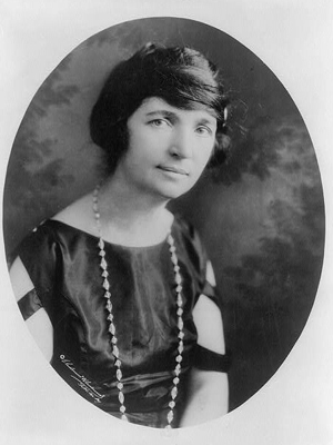 A portrait of Margaret Sanger