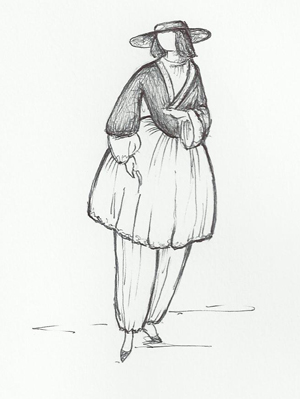 Mrs Amelia Bloomer