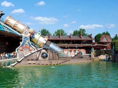 Disney's Nautilus Submarine