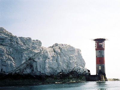 The Lighthouse at the Needles, Isle of Wight.